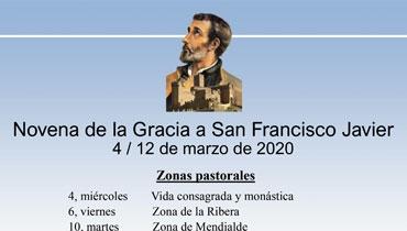 Novena de la Gracia a San Francisco Javier