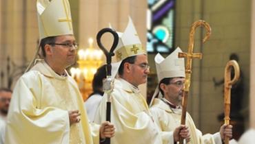 Ordenación Episcopal de 3 nuevos Obispos auxiliares