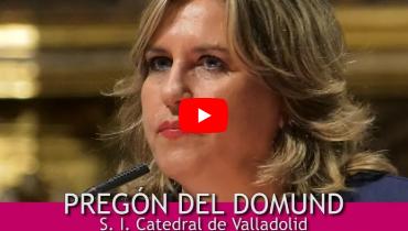 Pregón del DOMUND 2018 en Valladolid