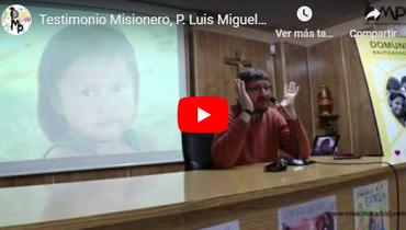 Nos visita el P. Luis Miguel Modino, Sacerdote Diocesano