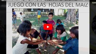 Testimonio de la Hna. Ángela Moneo, Misionera Javeriana